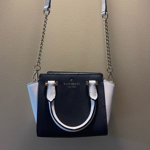 Black & White Kate Spade Cross-body bag